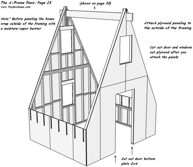 Tiny Eco House Plans - Off-the-grid sustainable tiny houses