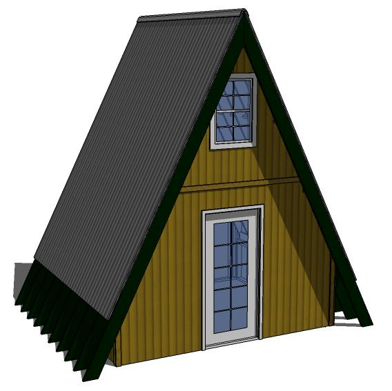 Tiny eco house plans off the grid sustainable tiny houses for Small a frame home plans