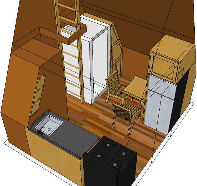 Tiny eco house plans off the grid sustainable tiny houses for 10 x 10 ft in sq ft