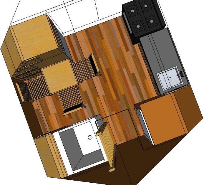 Inside Tiny Houses Tiny House Floor Plans With Loft Small: Off-the-grid Sustainable Tiny Houses