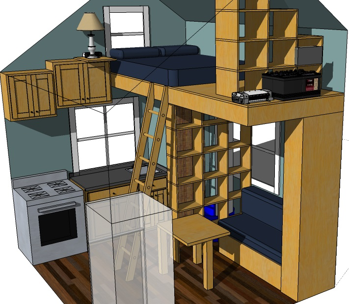 Tiny eco house plans off the grid sustainable tiny houses for Off the grid building plans