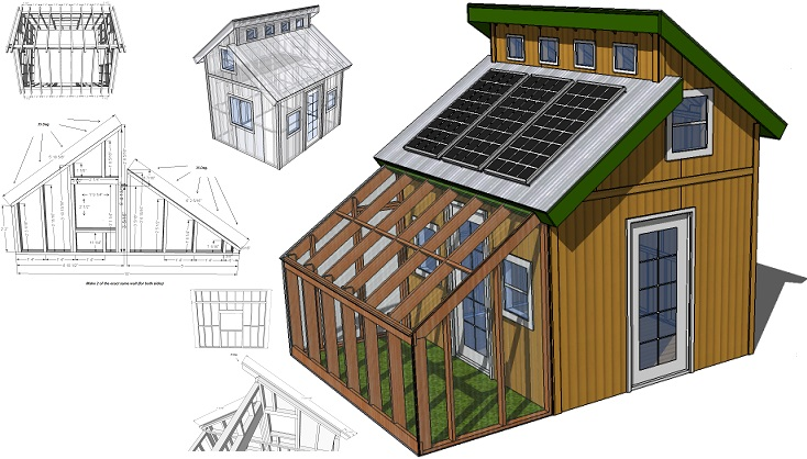 Tiny eco house plans off the grid sustainable tiny houses for Sustainable home design plans